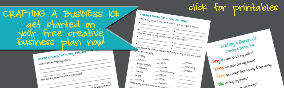 creative business planning printables