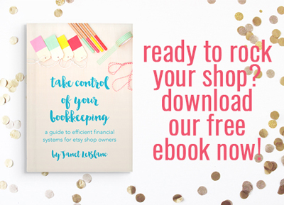 free etsy bookkeeping book